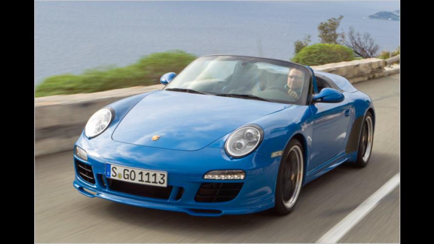 Test Porsche 911 Speedster: Offen, luftig und schnell