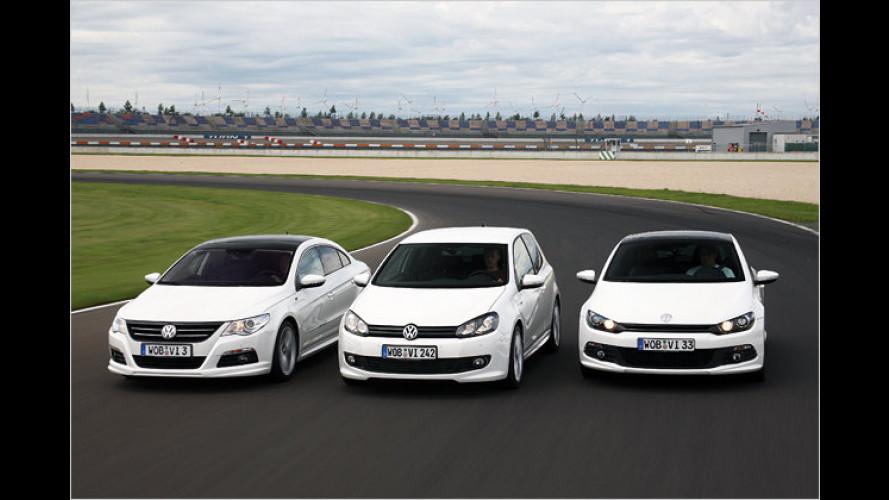 Sportliche Ausstattunglinie: Neue R-Line-Modelle von VW