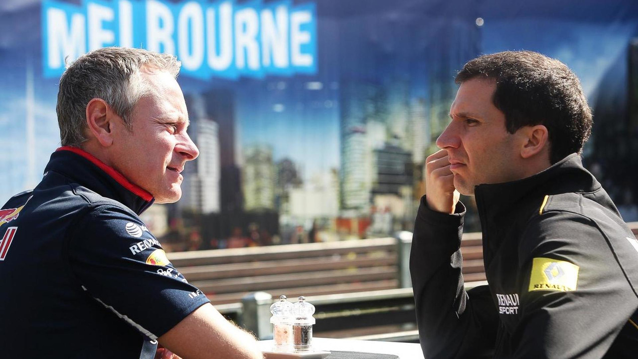 Jonathan Wheatley (GBR) with Remi Taffin (FRA), 14.03.2014, Australian Grand Prix, Albert Park, Melbourne, Australia / XPB