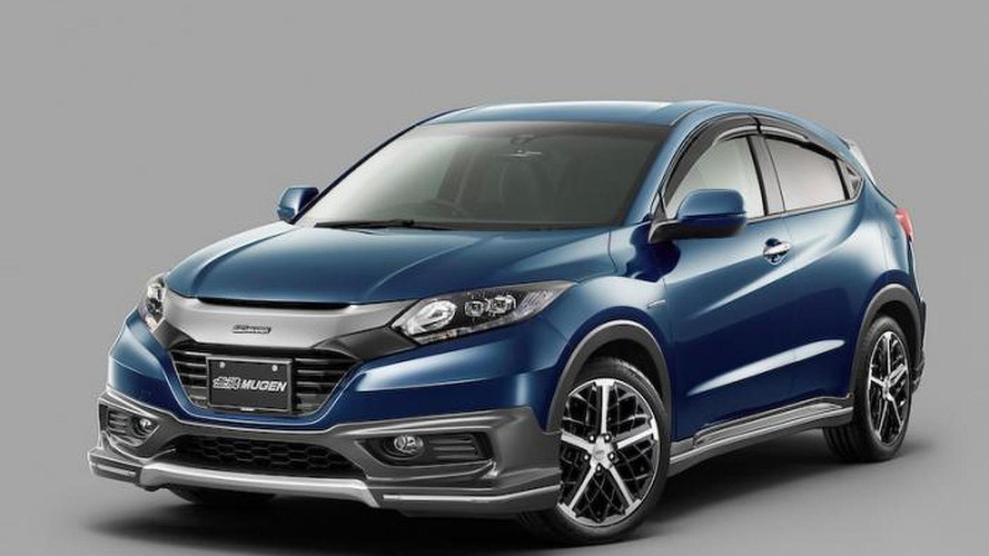 Mugen-prepared Honda Vezel revealed with full body kit