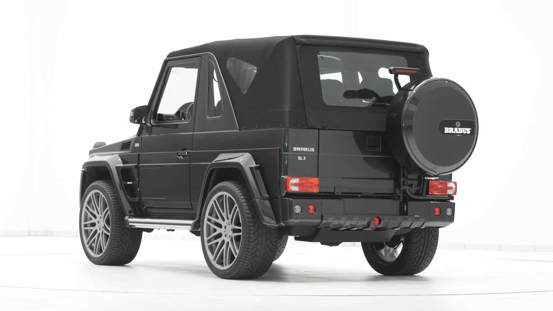Mercedes Benz G500 Convertible Tuned By Brabus