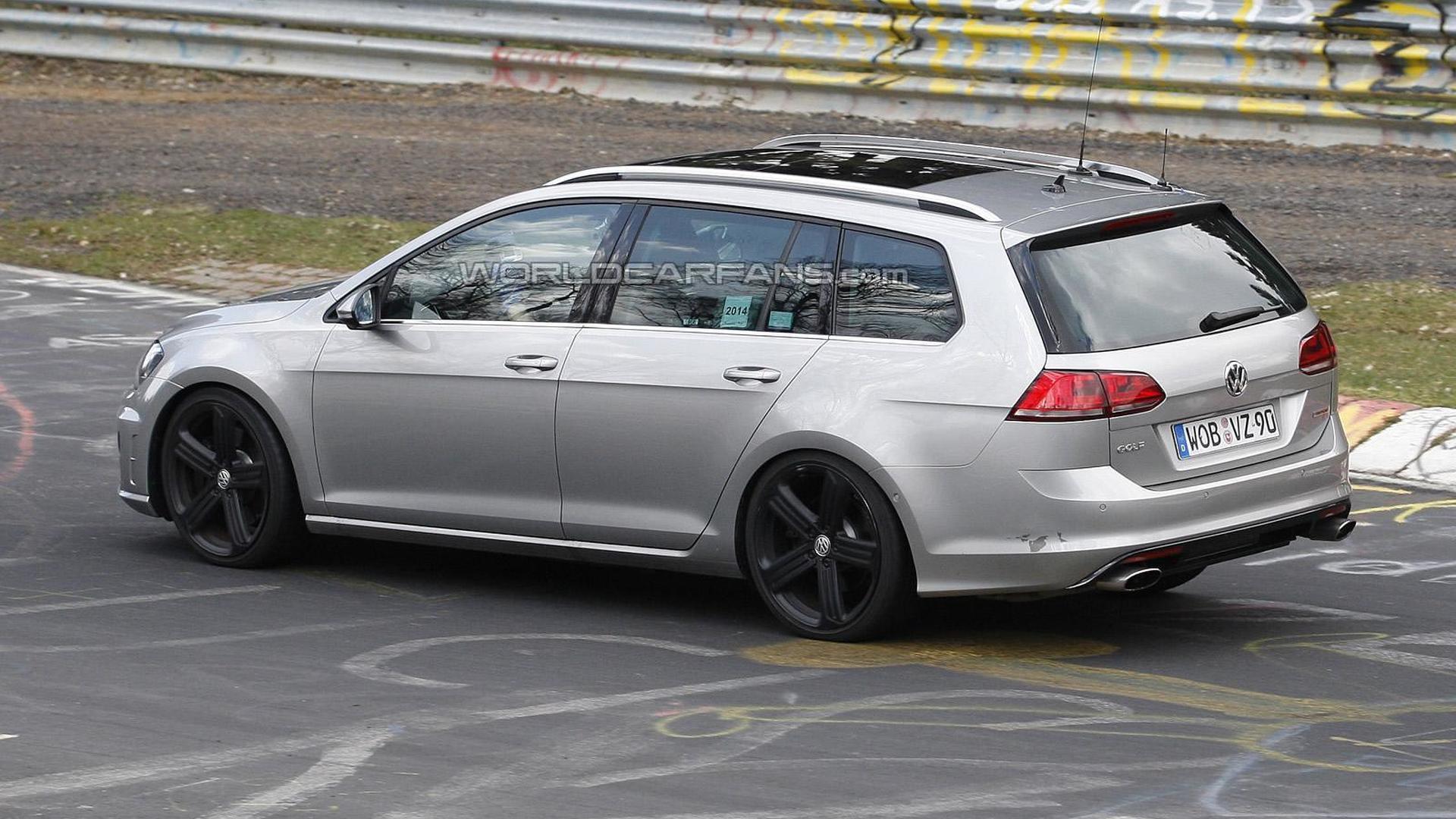 Volkswagen Golf R Variant returns in fresh spy shots