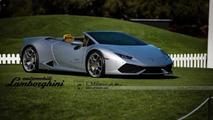 Lamborghini Huracan Spyder rendering / E.Milano