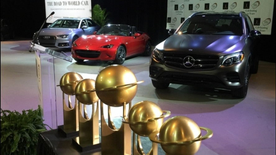 [Copertina] - World Car of the Year 2017, le finaliste a Parigi