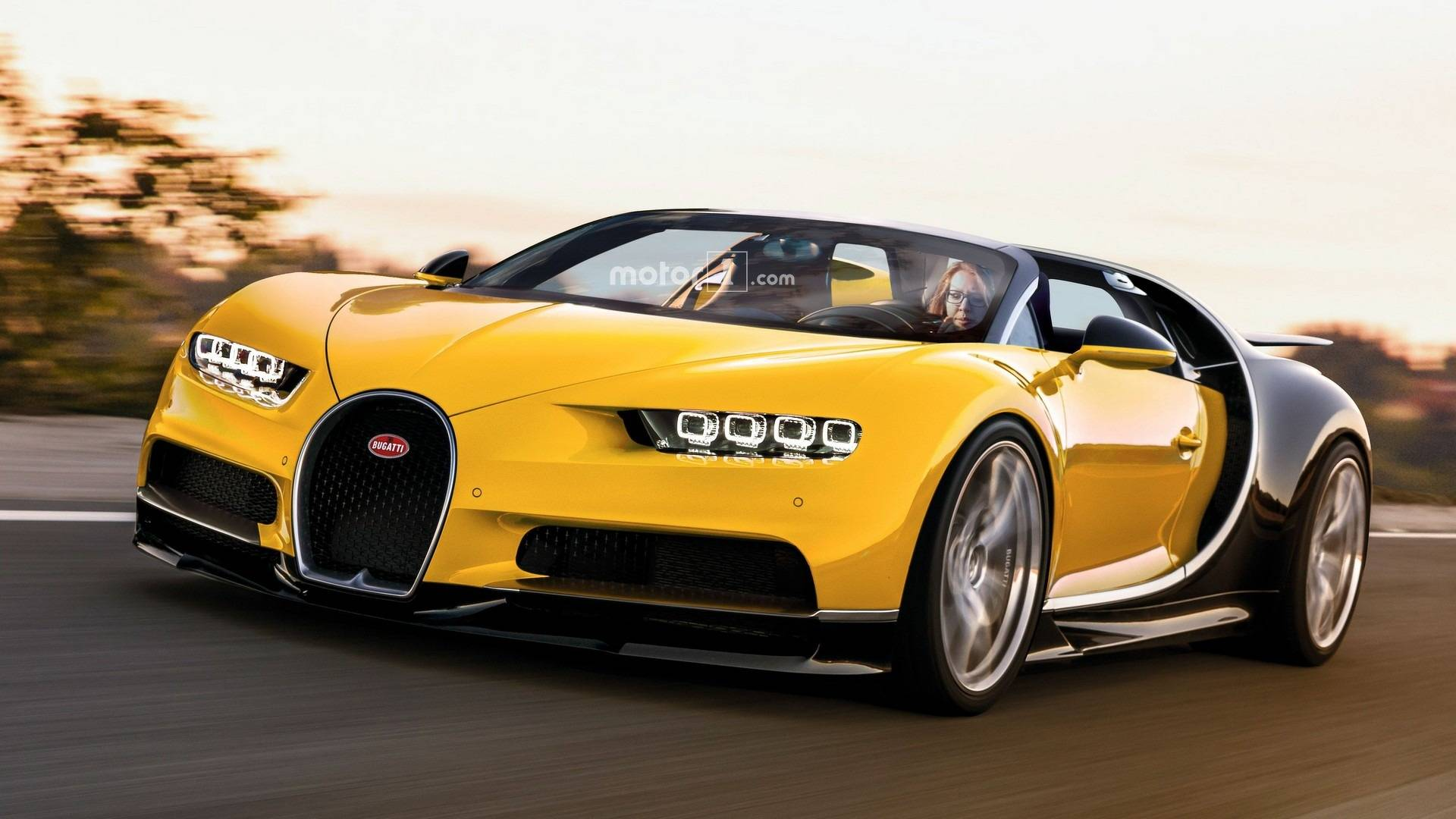 Chiron Rendered As The 1 500 Hp Roadster Bugatti Won T Make