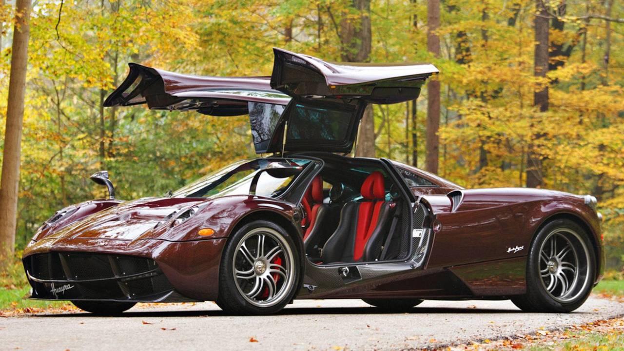 9. 2014 Pagani Huayra Coupe: $2,090,000