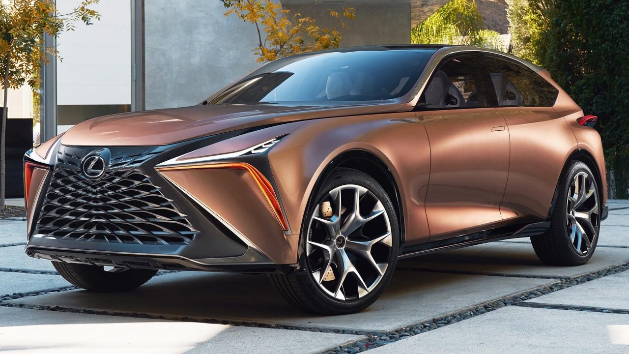 [Copertina] - Lexus LF-1 Limitless, il futuro dell'ammiraglia è nel crossover