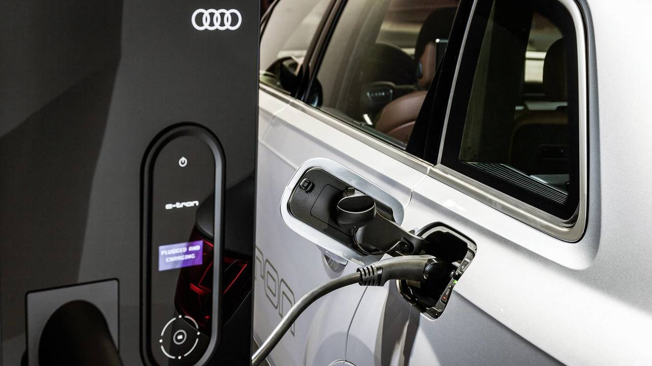 Audi Wallbox Charging