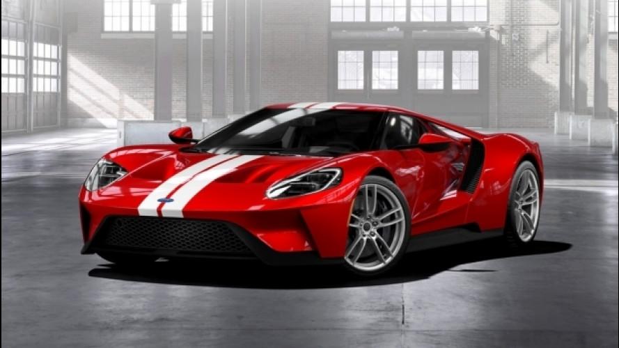 Ford GT, la produzione verrà ampliata
