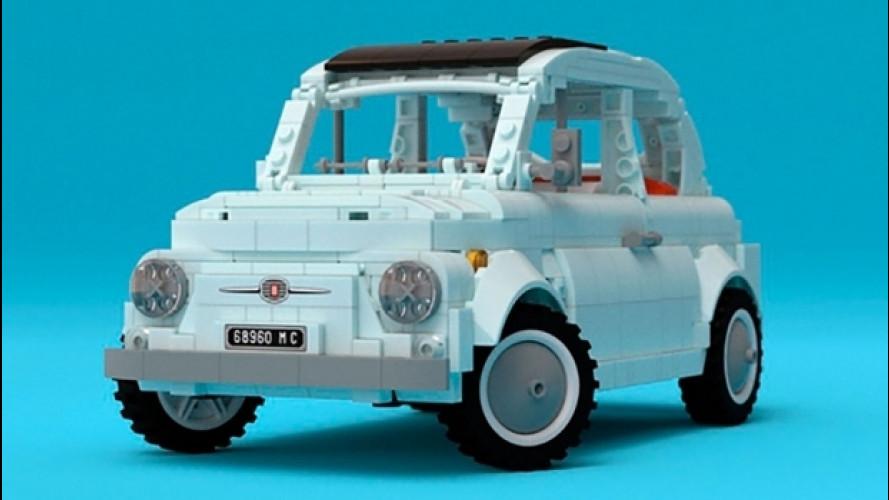 Fiat 500, la vorreste di LEGO?