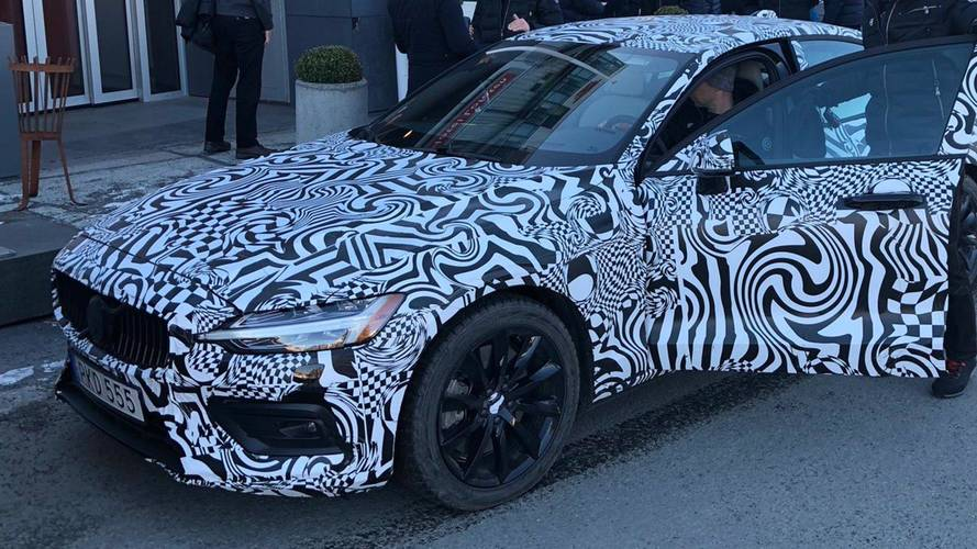 First Official Volvo S60 Image Revealed By Company CEO