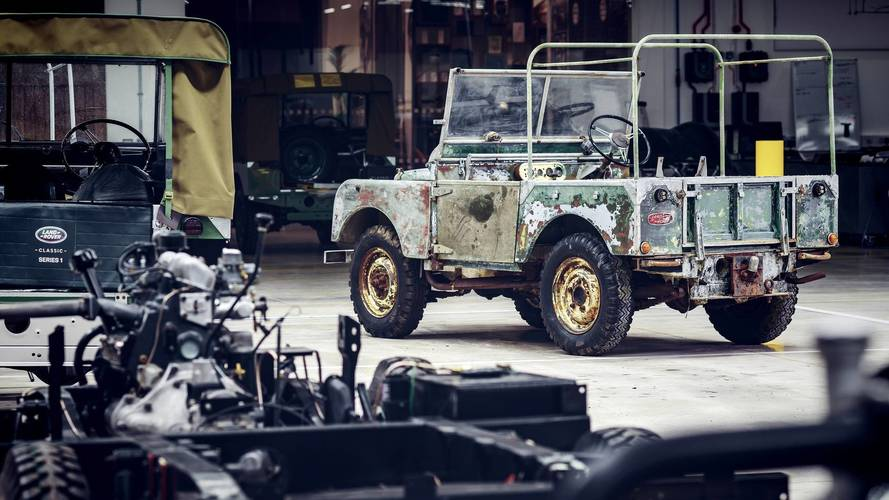 Restauration premier Land Rover de 1948
