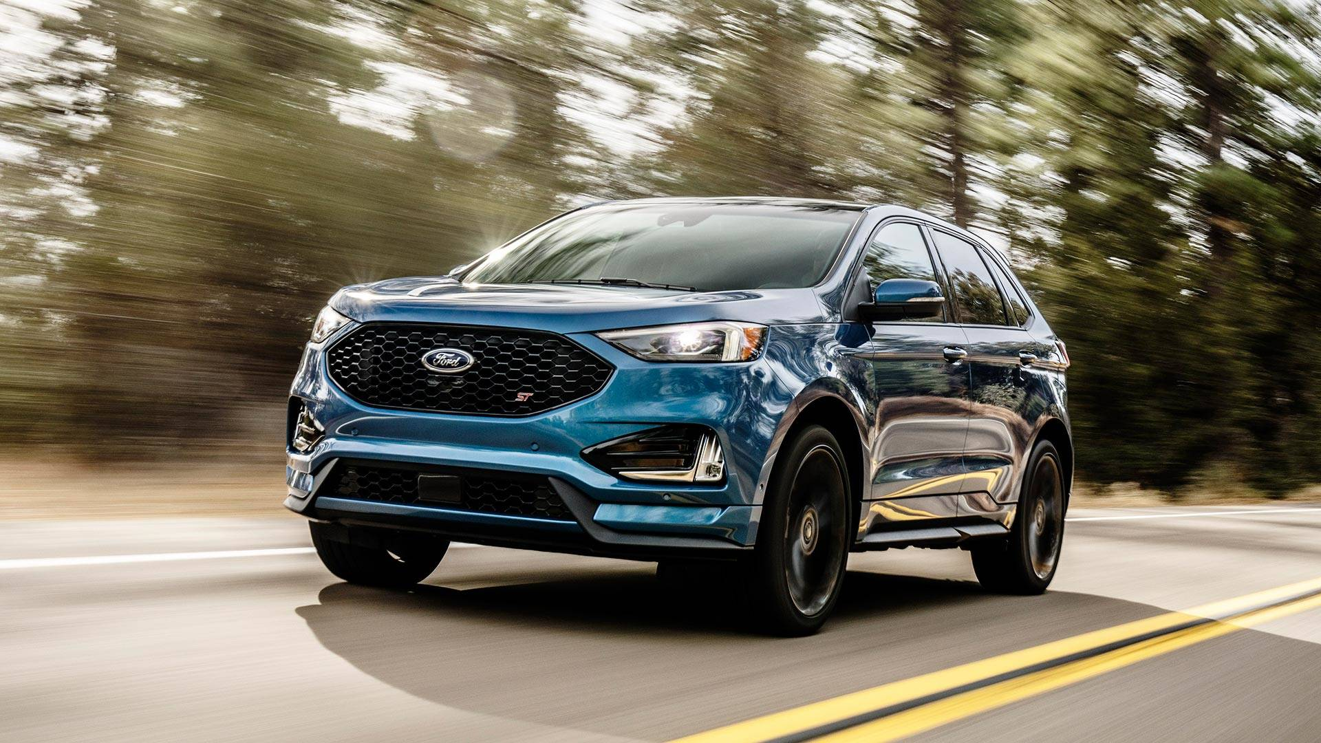 2019 ford edge st gets even edgier with sport mode rev matching