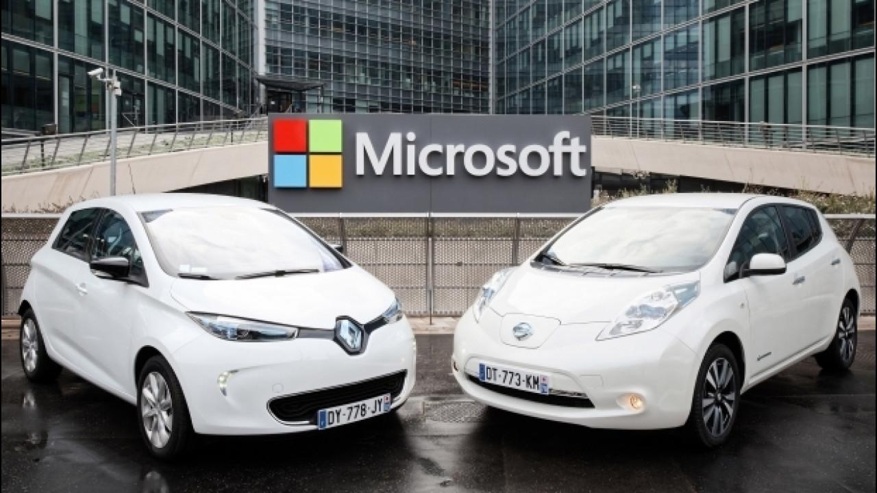 [Copertina] - Renault-Nissan, auto connesse con Microsoft
