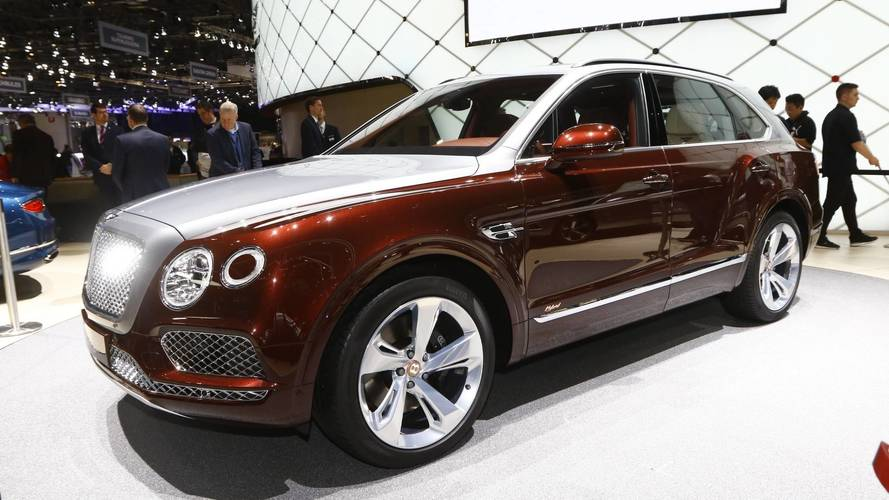 Bentley Bentayga Hybrid Live From Geneva Motor Show