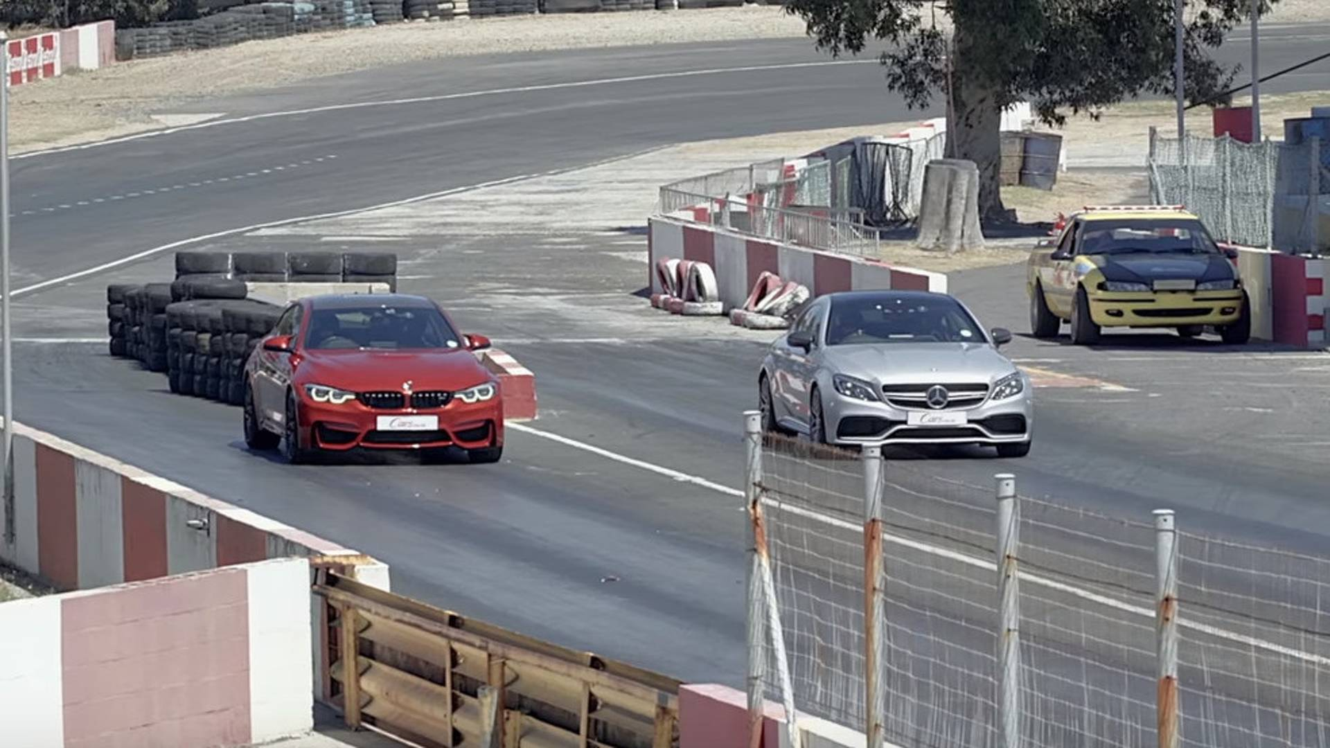 M4 Competition Drag Races Amg C63 S Coupe Germany Wins