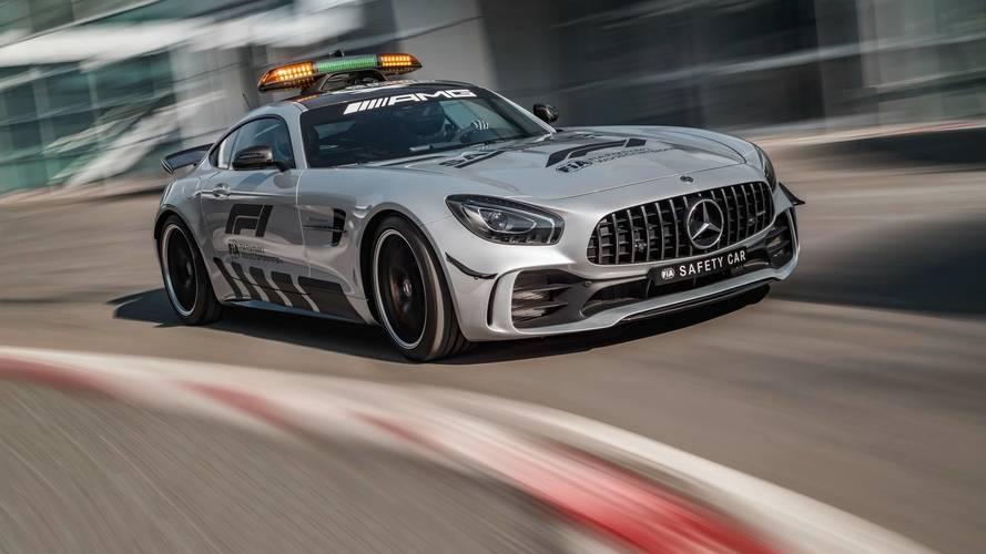 Mercedes-AMG GT R, Safety Car de la F1 2018