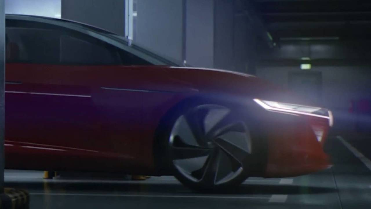 Teaser Volkswagen I.D. Vizzion