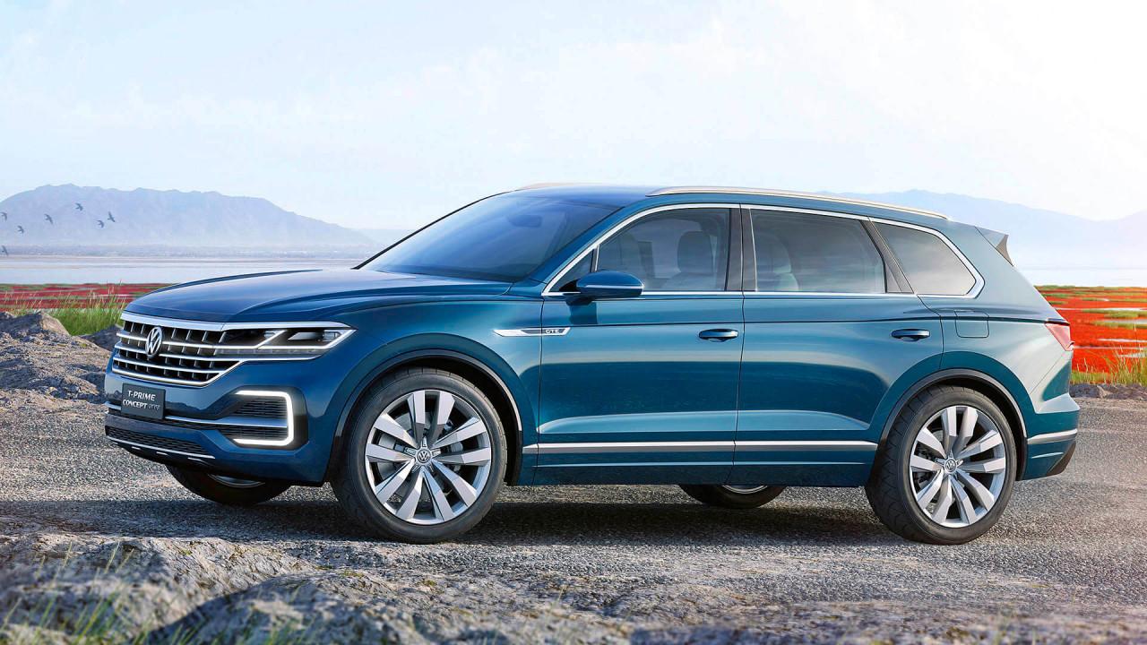 Neuer VW Touareg: Nahe an der Studie