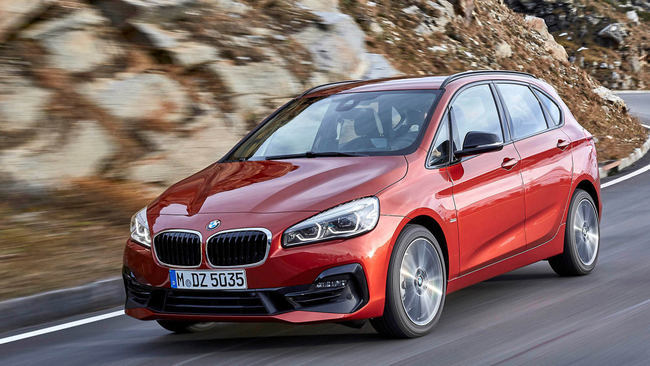 BMW Serie 2 Active Tourer y MINI Countryman