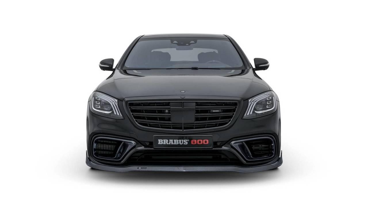 2018 Brabus 800 Sedan based on the Mercedes-AMG S63 Sedan