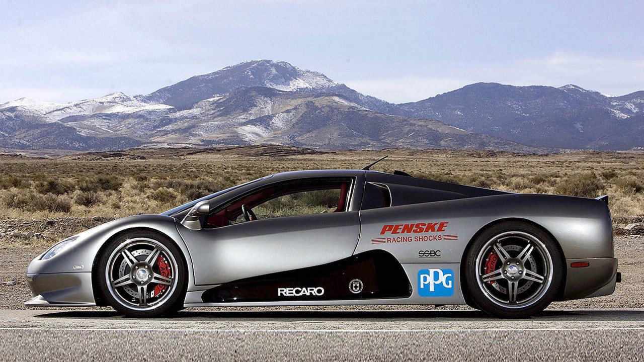 SSC Ultimate Aero: 412 km/h