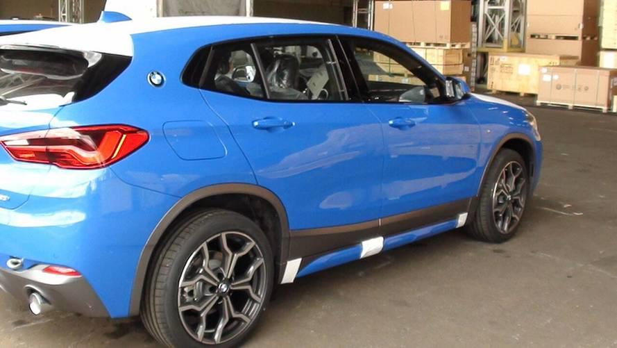 Flagra - Novo BMW X2 já desembarca no Brasil