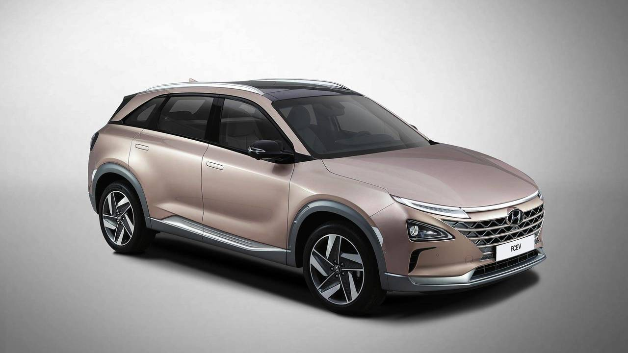 Hyundai Fuel Cell Vehicle Teaser