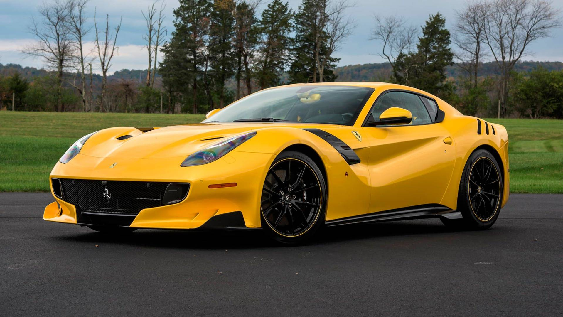Ferrari F12tdf With 130k In Options Could Bring 1 3m At Auction