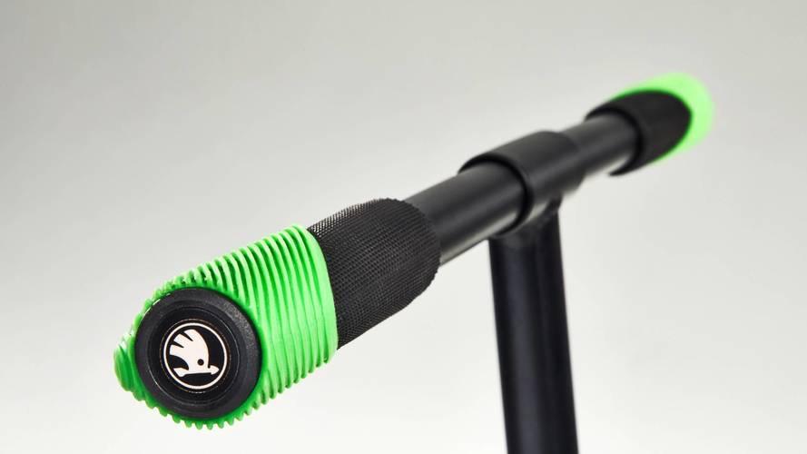 Skoda'nın yeni akılcı çözümü bir scooter