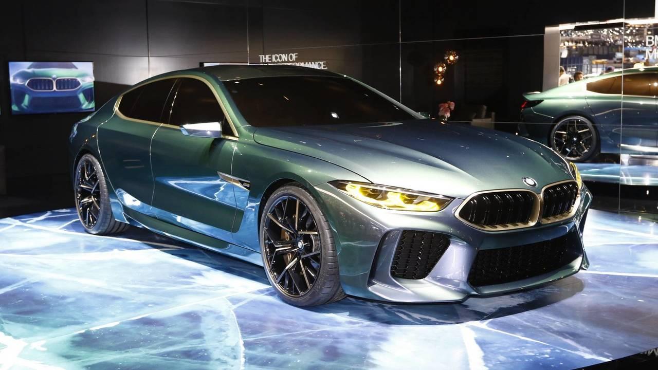 BMW M8 Gran Coupe concept car