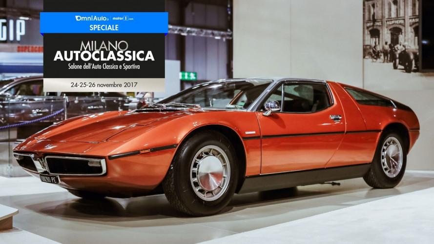 Milano AutoClassica, tutta la sensualità delle auto d'epoca