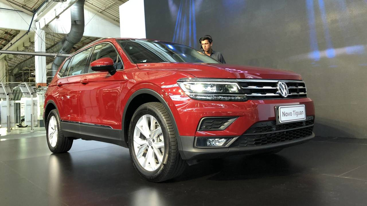 Volkswagen Tiguan 2018 - Apresentação