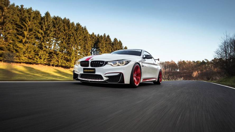 Manhart Modifiyeli BMW M4