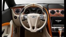 Bentley Continental Orange Flame