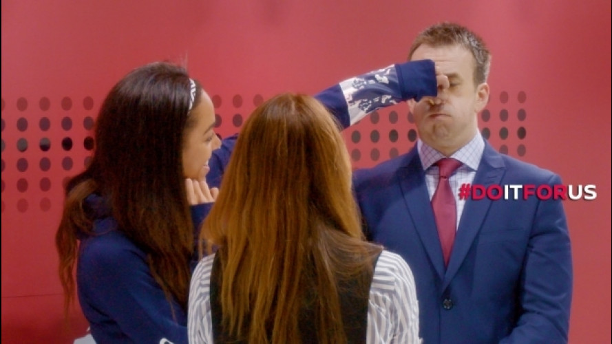 Nissan, online la candid camera agli atleti olimpici [VIDEO]