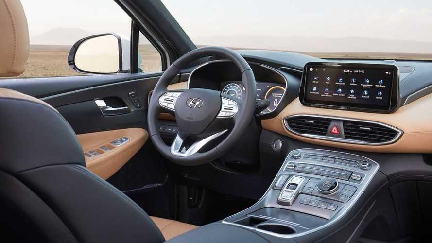 Hyundai Santa Fe 2021 primera prueba