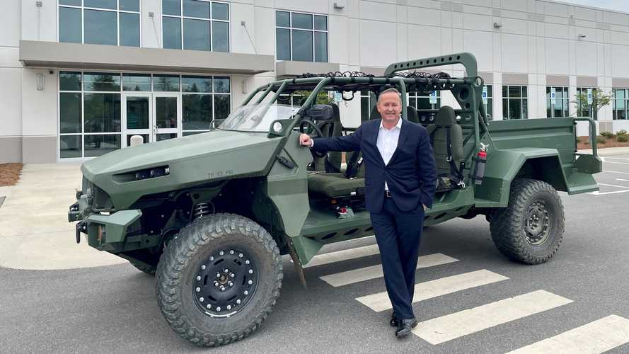 GM Puts eCrate Electric Powertrain In One-Off Military ISV