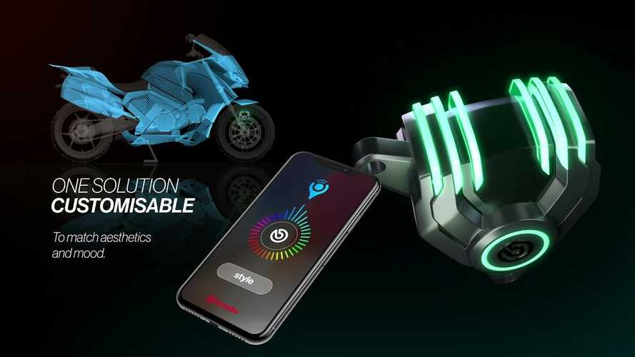 Brembo Presents New LED Brake Caliper Concept