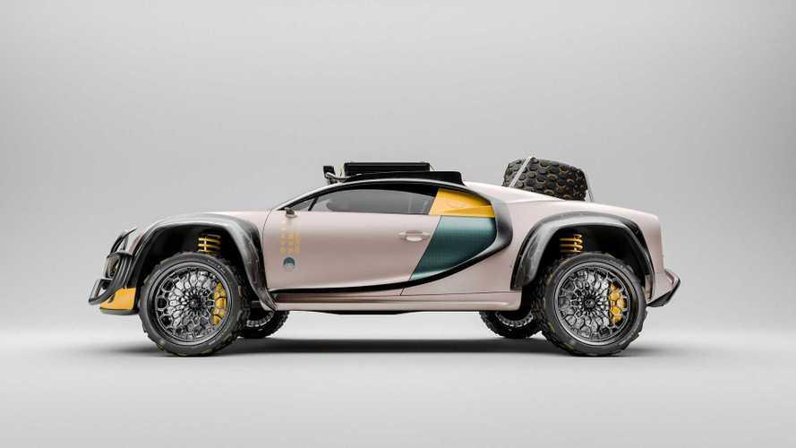 La Bugatti Chiron imaginée en une étonnante version tout-terrain