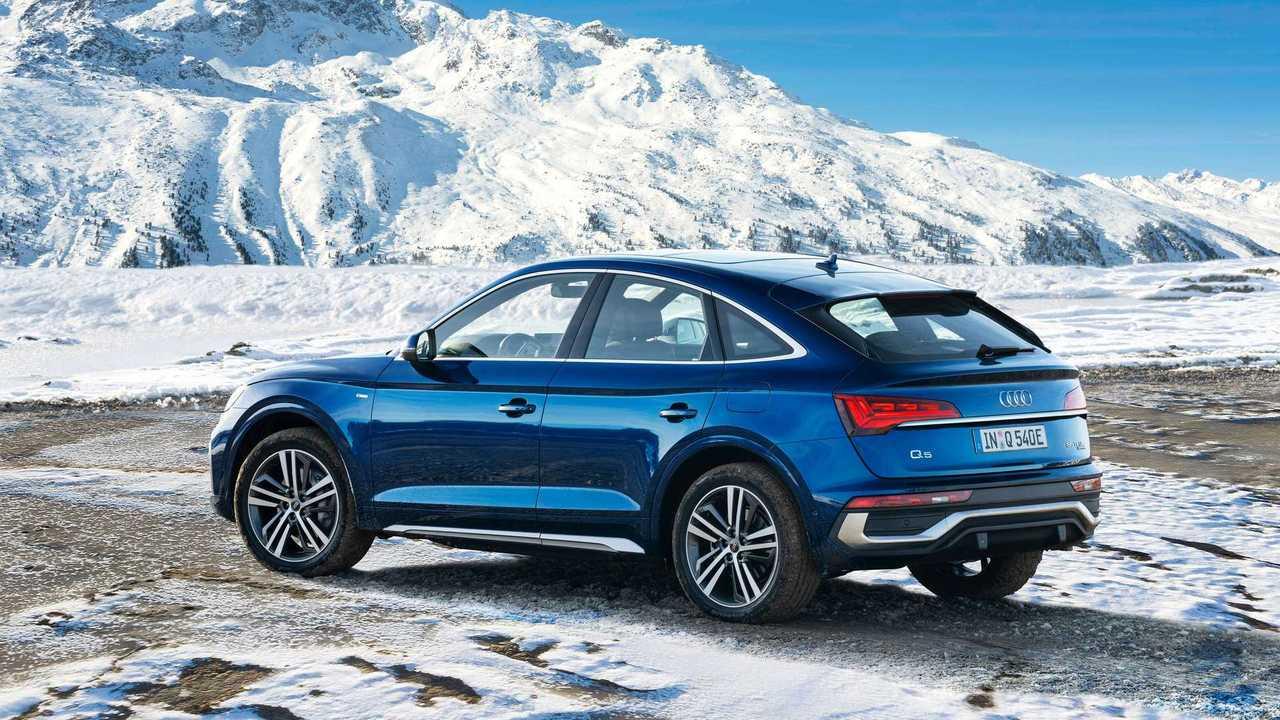 Audi Q5 Sportback TFSI and four