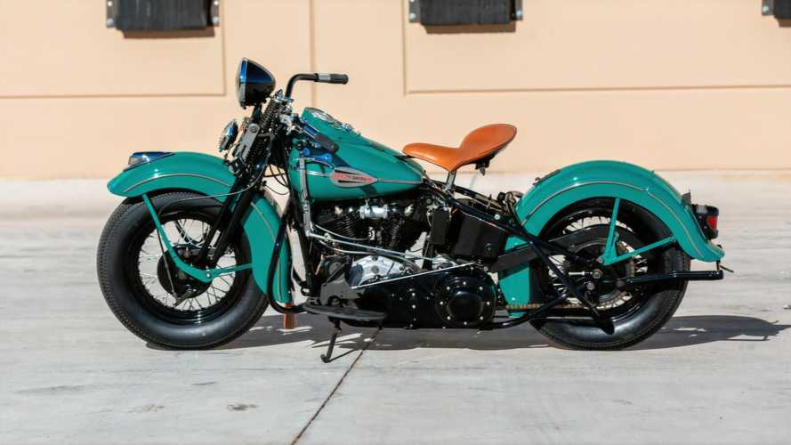 Rare Set Of Harley Knuckleheads To Hit Auction In April, 2021