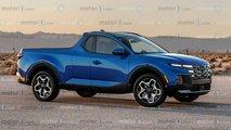 Hyundai Santa Cruz: Als Zweitürer auf inoffiziellen Renderings