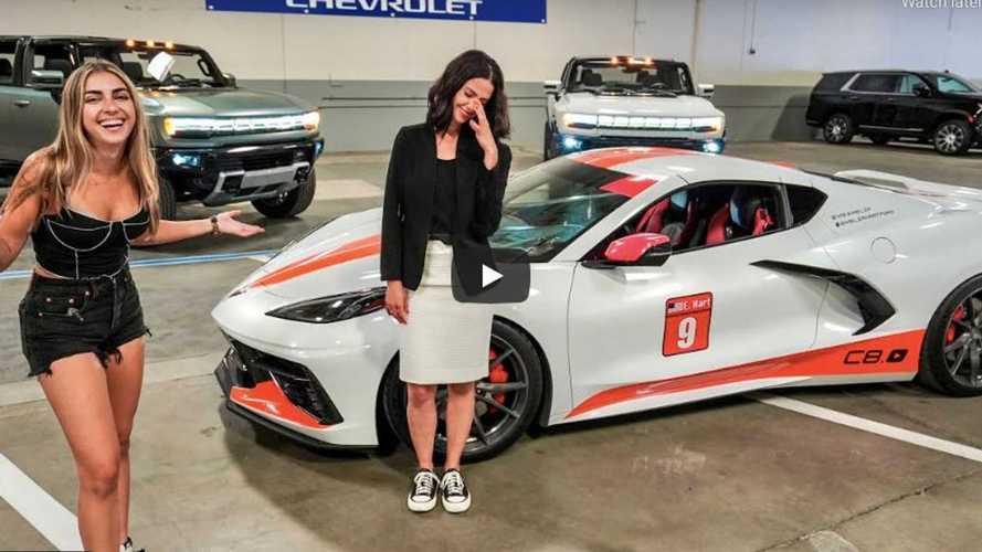 General Motors elogia a la dueña de este Corvette C8 de 1.000 CV