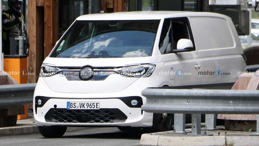 VW ID Buzz Spy Shots