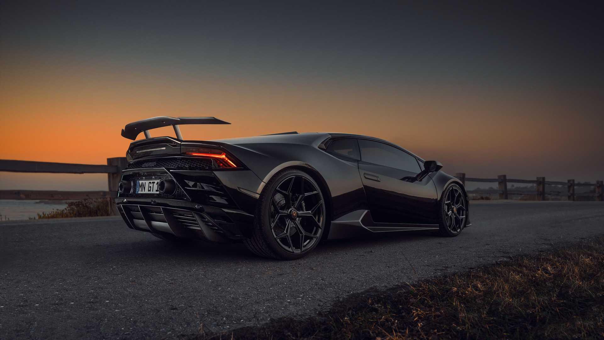 Lamborghini Huracan Evo By Novitec Side View