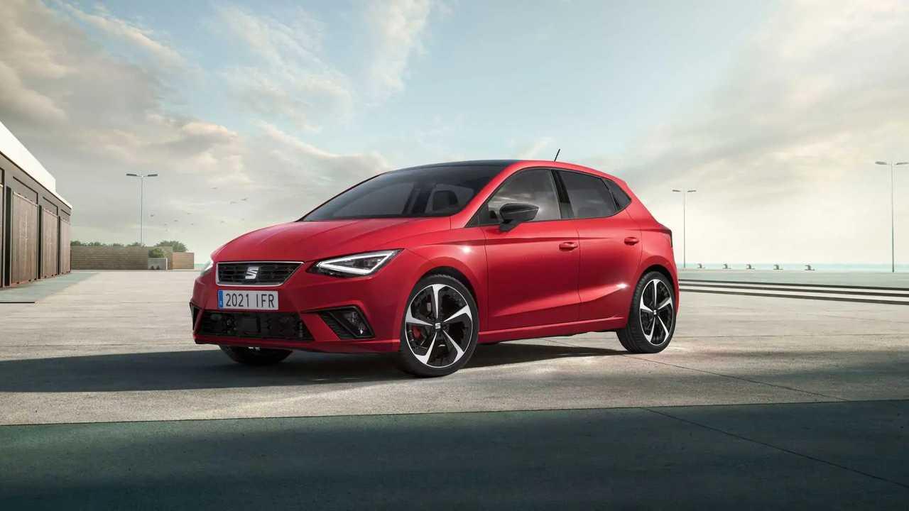 2021 SEAT Ibiza facelift