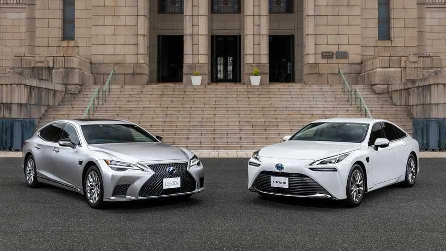 Lexus LS dan Toyota Mirai - Advanced Drive