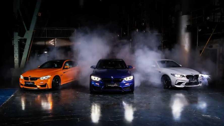 Ezer lóerőre is képes lehet a BMW M2, M3 és M4 az Infinitas hibrid töltőivel