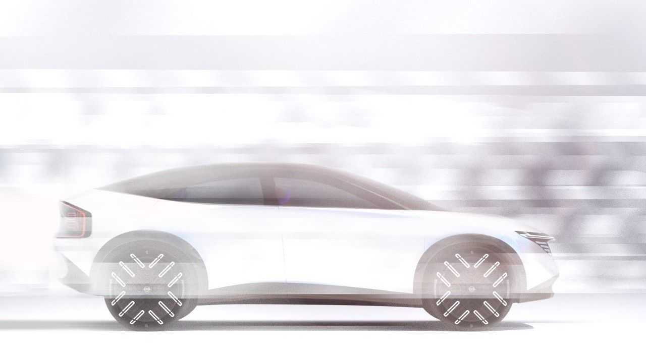 Il teaser della nuova Nissan Leaf crossover